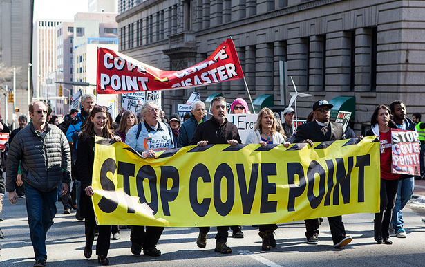 Protest agaisnt Cove Point